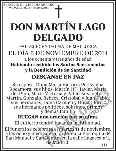 Martín Lago Delgado
